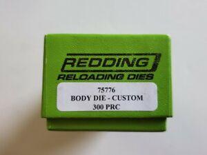 75776 REDDING BODY SIZING DIE - 300 PRC - NEW IN BOX - FREE SHIPPING