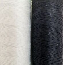 coats thread..Extra Strong No10s unsnapableThread 60 metres blk&wht with needle.