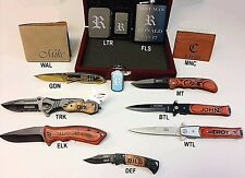 3 Personalized Custom Gift Sets, Build your Custom Box, Engraved Groomsmen Gift