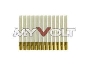 12x Ersatz-Pinsel für Glasfaserstift Glasfaser Radierer Glasfaserradierer NEU
