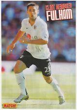 Clint Dempsey Fulham 2007-12 & 2014 (Loan) Original Main signed magazine Cutting