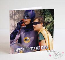 Buy batman birthday cards stationery for greeting cards ebay batman and robin birthday card father brother boyfriend friends mens son m4hsunfo