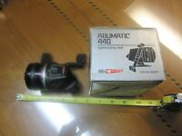 Clean Nice ABU/Garcia 440 Abumatic Reel with box,Serviced,Ready To Fish!Japan
