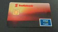 1998 VISA CASH CARD RELOADABLE - SCOTIABANK - CANADA - RARE - MINT