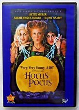 DISNEY HOCUS POCUS DVD NEW! HALLOWEEN WITCHES, BETTE MIDLER, FUN FAMILY CLASSIC!
