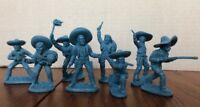 1/32 Mexican Bandits Figure Playset PlasticToy Soldier 16 Figures