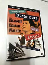 Strangers On A Train Dvd (2-Disc Set) Alfred Hitchcock