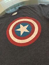 OldNavy Mens Captian America Logo Short Sleeve T-Shirt Size Large
