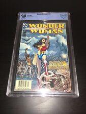 Wonder Woman #181 CBCS 9.8 Newsstand Variant Villainy Inc - Like CGC