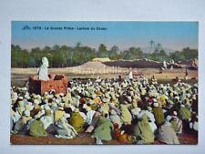 LA GRANDE PRIèRE Lecture di Coran old postcard vecchia cartolina