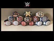 14 x WWE Custom Title Belts For Jakks/Mattel Wrestling Figures
