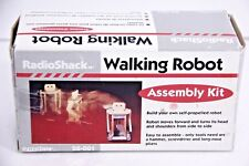 "NIB! VHTF! Vintage Radio Shack (Tandy InterTan) WALKING ROBOT KIT 6"" Wood Body"