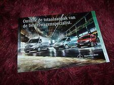 Catalogue  / Brochure MERCEDES BENZ Citan / Vito & Sprinter Utilitaires 2013 //