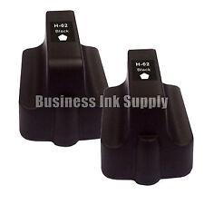 2 BLACK New Generic 02 Ink Cartridge 02BK for HP Printer Photosmart D7280 C7250