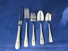 Oneida Stainless SATIN ASTRAGAL 5pc Place Setting (s) NEW