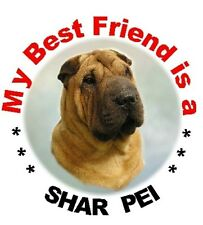 2 Shar Pei Car Stickers By Starprint