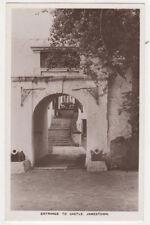 Entrance To Castle Jamestown St Helena Vintage RPPC Postcard US054