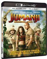 Jumanji: Bienvenidos a la Jungla Ultra HD Blu-ray NUEVO PRECINTADO) REGION LIBRE