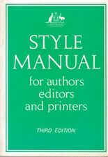 JOHN PITSON [REVISED] Style Manual for Authors, Editors and Printers of Australi