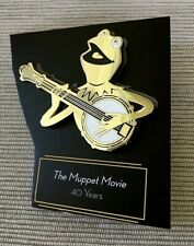 Hermit The Muppet Movie 40 Years 2019 Original D23 Gold Member Pin New