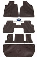 2011-2017 Buick Enclave Premium All Weather Floor Mat Package Cocoa Genuine OEM