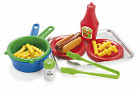 EARLY LEARNING KIDS CHILDRENS PLAY HOT DOG & CHIPS ON TRAY by DANTOY EYFS 4660