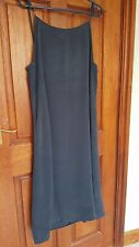 Navy Dress Size 12 (to Size16) Petite Loose Fit Mid Length Holiday Never Worn