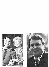 Terry Scott & June Whitfield Genuine signed authentic autographs UACC / AFTAL