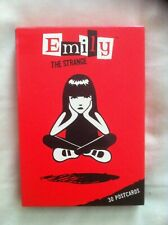 Emily The Strange 30 Postcard Set New and Unused