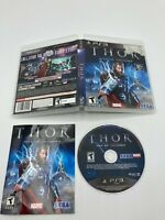 Sony PlayStation 3 PS3 Tested CIB Complete Thor God of Thunder Ships Fast