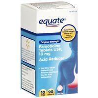 Equate Original Strength Acid Reducer Famotidine 10 mg 90 Tablets Exp 11/21