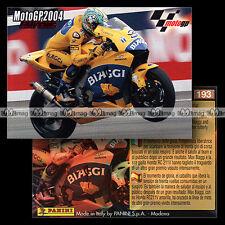 #pngp04.193 ★ Pilote MAX BIAGGI (HONDA RC211V) / EXTREME ★ Panini Moto GP 2004
