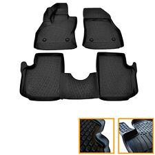 4 TAPIS CAOUTCHOUC FIAT 500 L 500L 09/2012-UP TOUS MODELES SOL 3D TPE SPECIFIQUE
