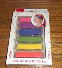Way To Celebrate Wal-Mart Walmart 6 Pieces Box Hair Chalk Little Girls accessory