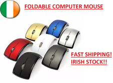 High Quality 2.4GHz Wireless Foldable Computer Mouse 3 Buttons Optical Mouse