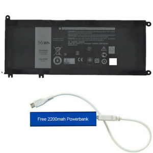 33YDH REPLACEMENT BATTERY FOR DELL LATITUDE 3380 3480 3490 3590 15.2V 56WH PVHT1