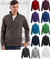 AWDis - Mens Fresher Full Zip Sweatshirt - 2 Front Pockets - Various Colours