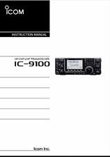 Highest Quality ~ Icom IC 9100   Operating Manual