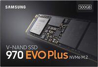 Samsung Memorie MZ-V7S500 970 EVO Plus SSD Interno da 500GB, PCle NVMe M.2