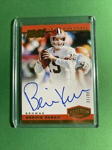 BERNIE KOSAR AUTO /99 ~ 2019 PLATES & PATCHES~100 YEARS SIGNATURES CLE BROWNS