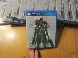 Bloodborne PS4 PLAYSTATION 4 Sony BRAND NEW FACTORY SEALED FIRST PRINT BLUE