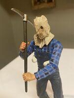 homer simpson parody jason voorhees friday 13th  figure  resin