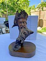 "Vintage Rick Cain Sculpture ""Woodland Spirit"" Limited Edition, #479/5000, 1986"