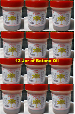 12 Jars Batana Oil Original Pure Ojon Palm 3 0z -Made in Honduras
