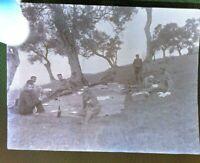 NEGATIVA FOTOGRAFICA 1940ca MILITARI REGIO ESERCITO IN ALBANIA -