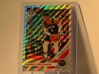 2019/20 Donruss Optic FANATICS SILVER PRIZM WAVE RUSSELL WESTBROOK #58 ROCKETS