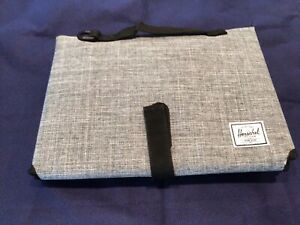 New Herschel Strand Baby Gray changing pad Never Used