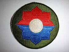 Vietnam War US Army 9th IINFANTRY Division Patch