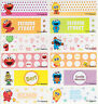 56+18 FREE Sesame Street Personalised Name Label Large (46*15mm) Dishwasher Safe