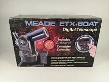 Meade ETX-60 Digital Motorized Refractor Automatic Telescope Untested In Box